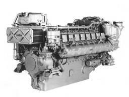 Cylinder head for marine engine MTU 16V538 TB90 5610105620