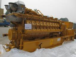2*New Caterpillar CG170-20 Natural Gas Generator Set sale