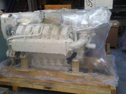 2 x New MAN V12-D2862LE432 Marine propulsion engines 1200 HP