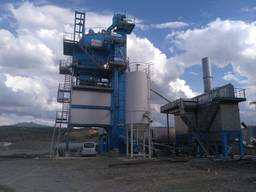 Б/У Асфальтный завод Benninghoven ECO- 320 т/ч, 2015 г.