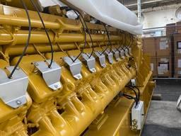 Б/У дизель-генератор CAT-7400 MS, 5200 Квт, 2011 г. в.