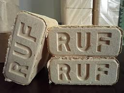 Briquette / Брикеты / Puubriketti RUF / 10 kg pakkaus