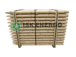 Debarked / Rounded Wooden Stakes
