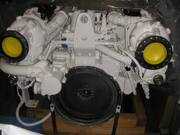 Diesel marine propulsion engine MAN D2842LE406 1200 hp remanufactured EU stock available