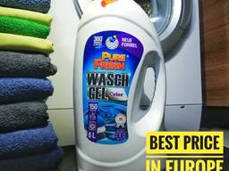 Gel Laundry Detergent Pure Fresh, own production, wholesales