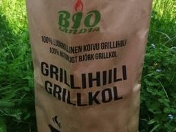 Grillihiili 100% koivu 3 kg säkeissä
