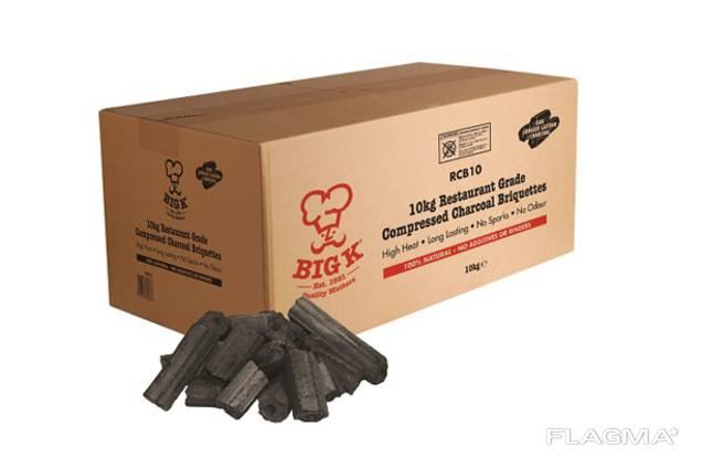 Hiilibriketti / Pini & Kay briquettes / Угольный брикет