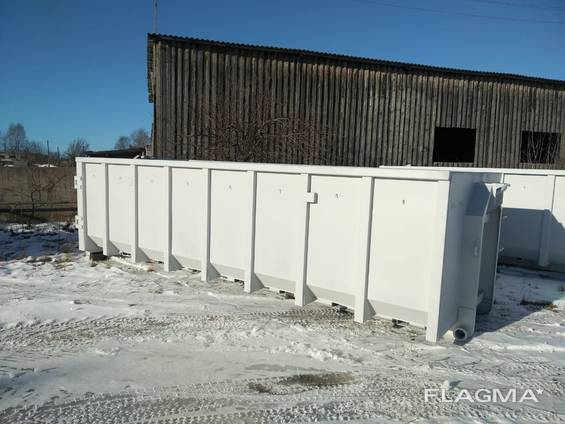 Kontti frame, container hook lift ,