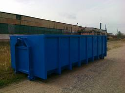 Kontti frame, hook lift container,