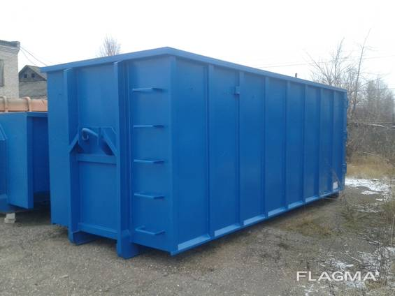 Kontti containers, Container frame, hook lift container,