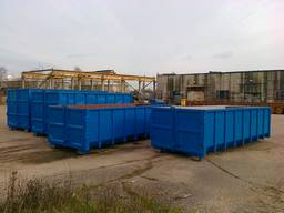 Container frame, Kontti containers, hook lift container,