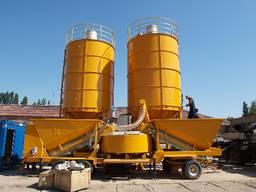 Мобильный бетонный завод М-2200 (60-80 м3/час) Швеция