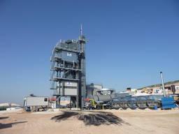 Modular asphalt plant Parker TransMix 2300 (200 tph, United Kingdom)