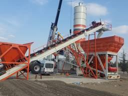 MVS 100M 100m3/hour Mobile Concrete Batching Plant - фото 3
