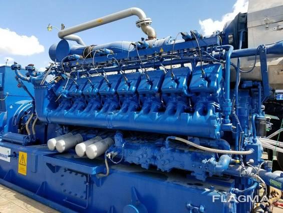 gas generatorMWM TCG2020V16K set new surplus, 0HRS, 2010