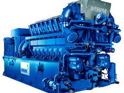 MWM TCG2032V16 4300MW gas genset CHP w/ Aprovis steam boiler