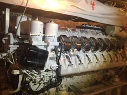 2 units MTU 16V4000M90 marine propulsion engines sale w/gear