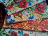 Скатерти, полотенца в украинском стиле, лён- рогожка - фото 5