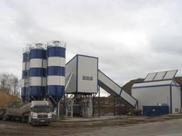 Бетонный завод стационарный SUMAB Т-120 (Швеция)