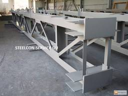 Frame steel halls, welded steel construction