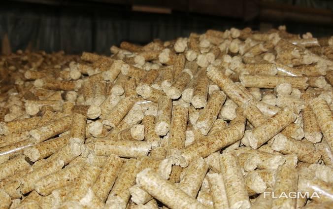 Топливные гранулы, пеллеты 6мм